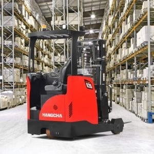 A series reach truck 2 warehouse equipment