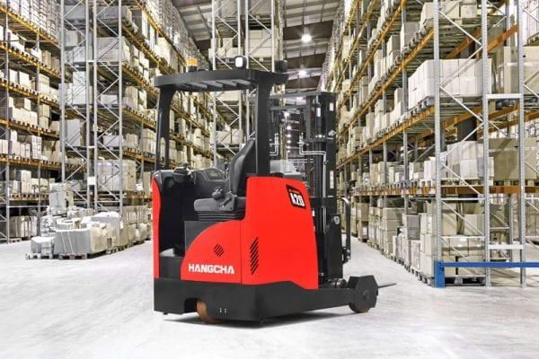 A series reach truck 2 warehouse equipment