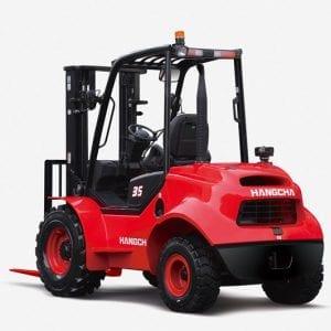 Rough Terrain 2.5 – 3.5t Diesel Forklift