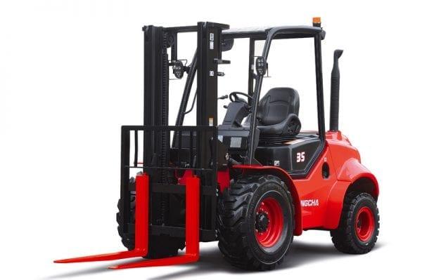 Rough Terrain 2.5 – 3t 4WD Diesel Forklift