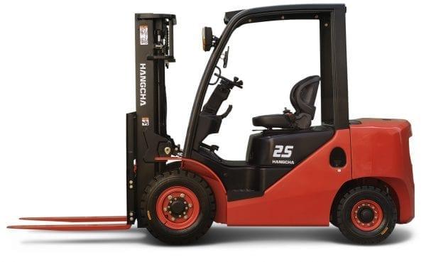 XF-25 (2) XF Series 4.0 – 5.5t Diesel/LPG Forklift