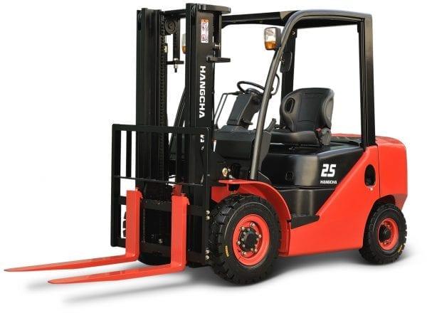 XF 25 XF Series 4.0 – 5.5t Diesel/LPG Forklift