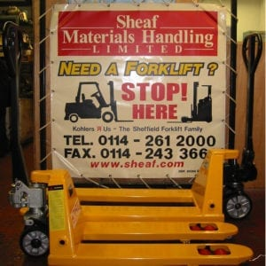 Hand Pallet Truck - 540 x 1150 - 2500 KG Capacity